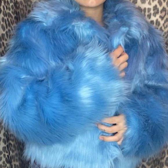 Dolls Kill Jackets & Blazers - Faux Fur Jacket